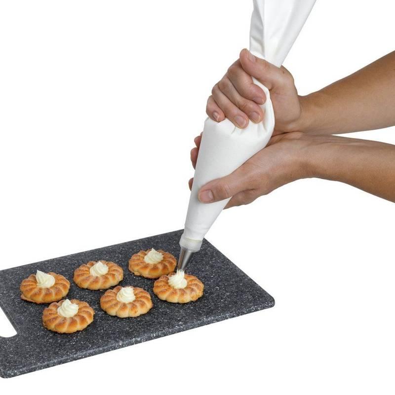 Rękaw cukierniczy BAWEŁNIANY worek dekorator 47 cm