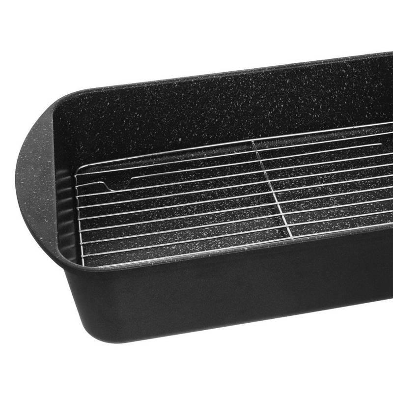 Ruszt grillowy do brytfanny pieczenia 32x23 cm kratka podstawka do studzenia lukrowania ciasta ciastek tortu