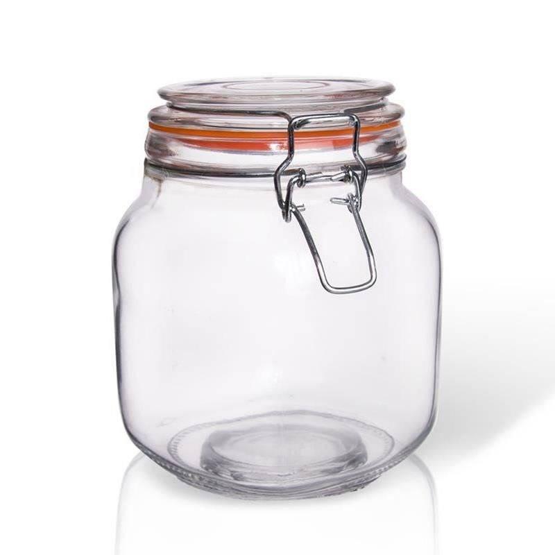 Słoik / pojemnik szklany patentowy BELA 1l