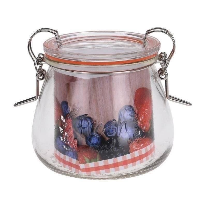 Słoik / pojemnik szklany z uszczelką WECK 400 ml