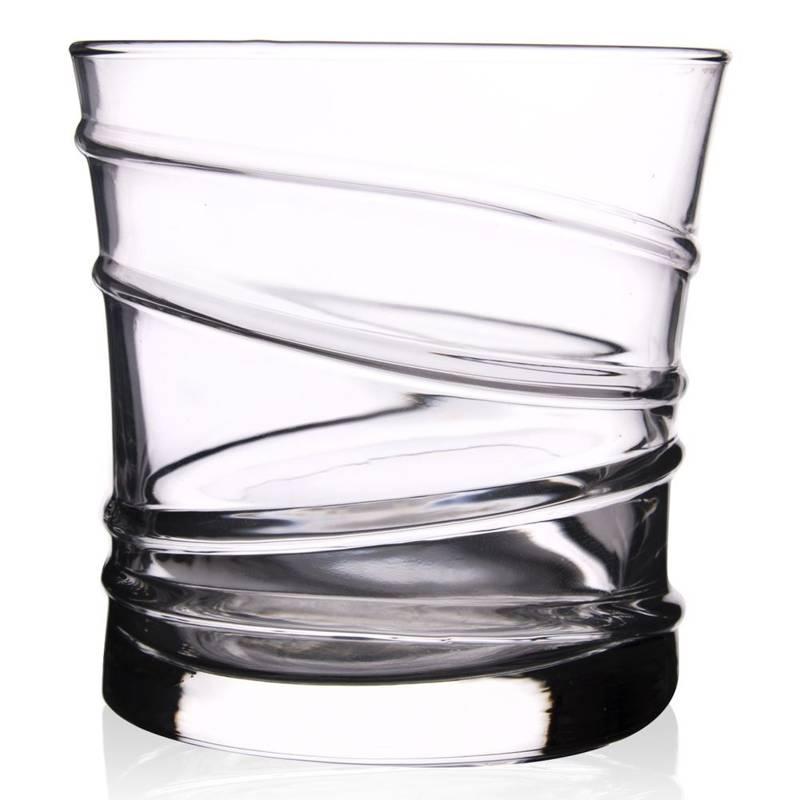Szklanka do whisky drinków napojów zestaw komplet szklanek 320 ml 6 sztuk