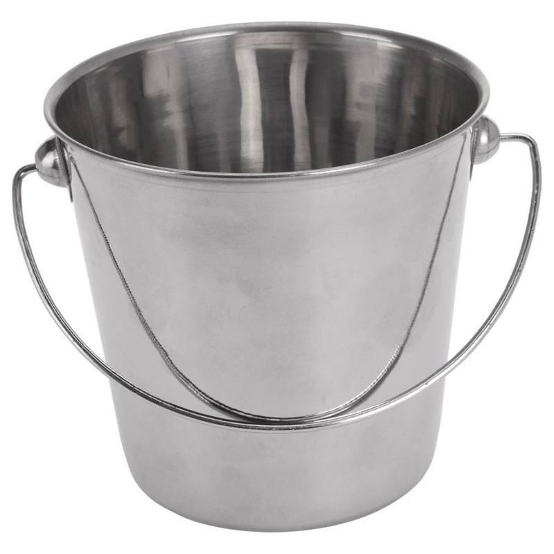 Wiaderko na przekąski przystawki frytki sos dip lód do lodu 660 ml