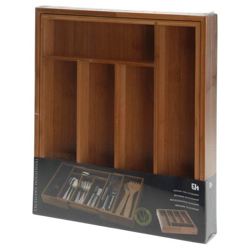 Wkład / organizer do szuflady na sztućce ROZSUWANY