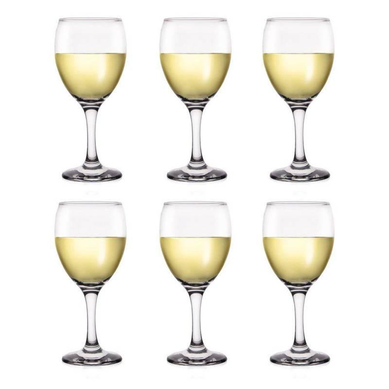 Zestaw kieliszków KIELISZKI kieliszek do wina 340ml 6 sztuk