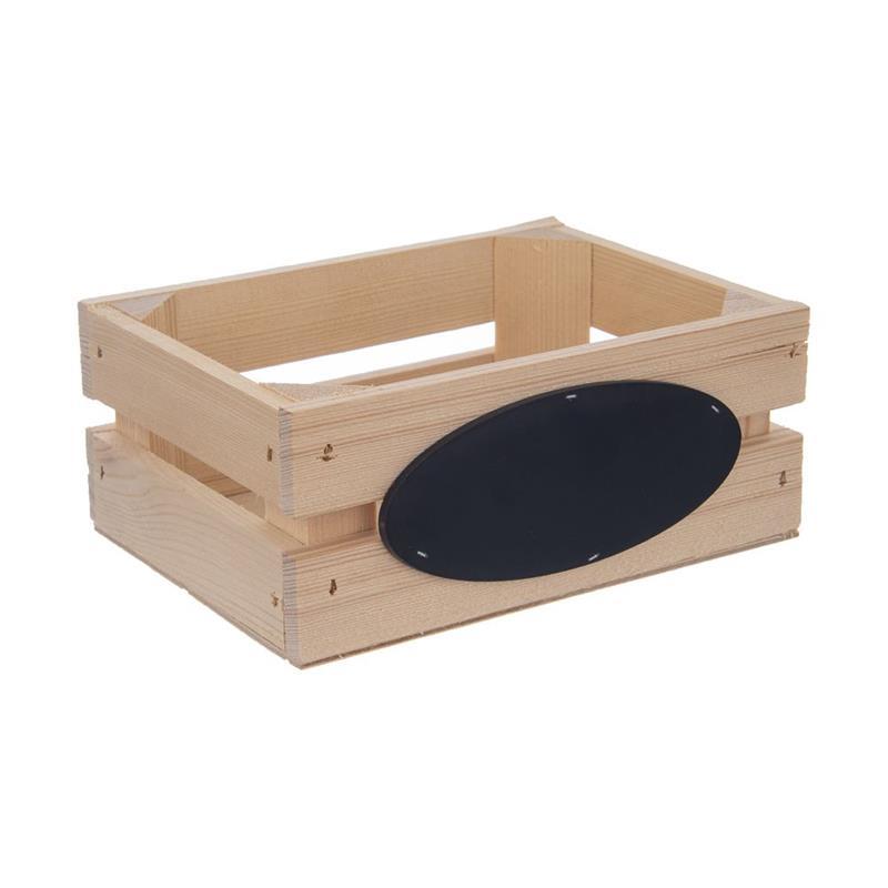 Cutie din lemn, cufăr, recipient, 20x15x18,5 cm, pentru depozitare, coș pentru legume, fructe