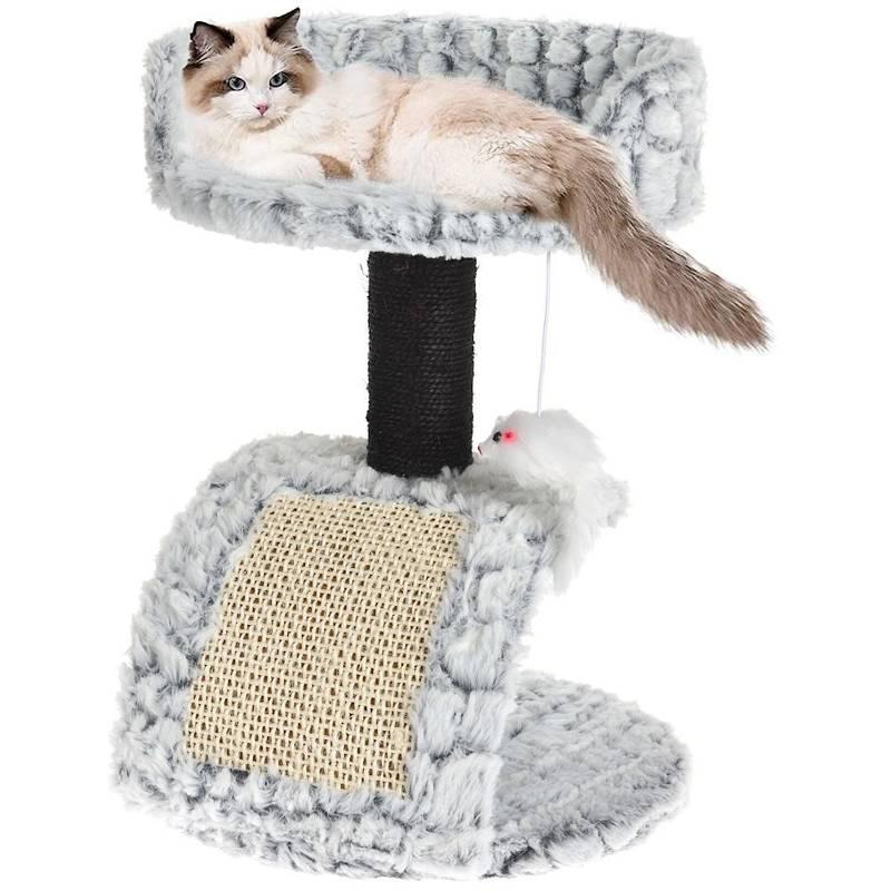 Casă pentru pisici cu 2 etaje, orizontală, zgârietor, stâlp, pat, copac, cu șoarece